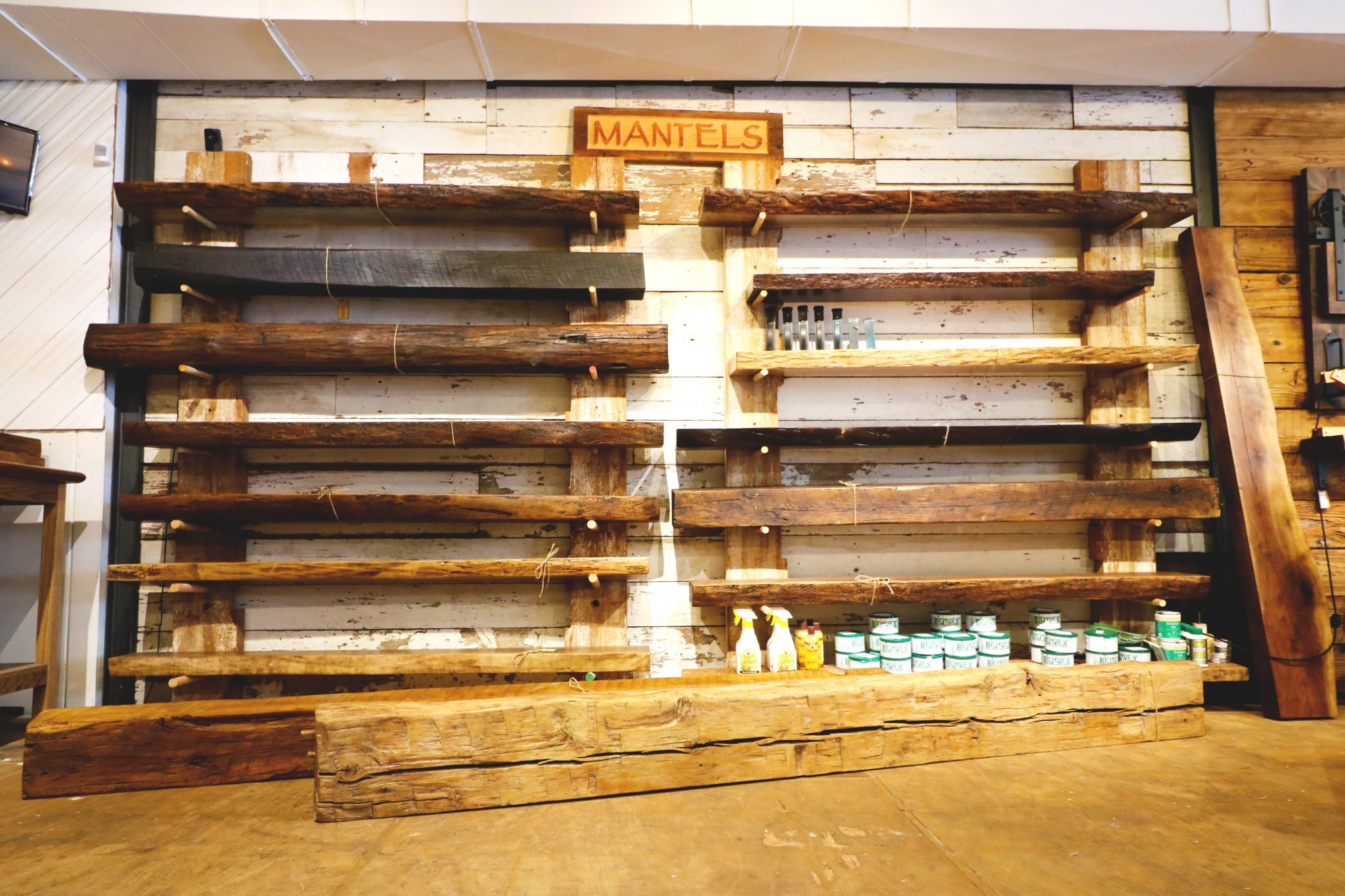 Live Edge And Reclaimed Mantels Fraser Wood Elements